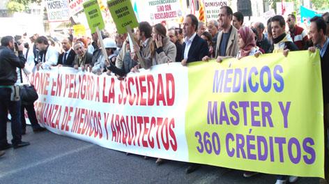 cabecera manifestación