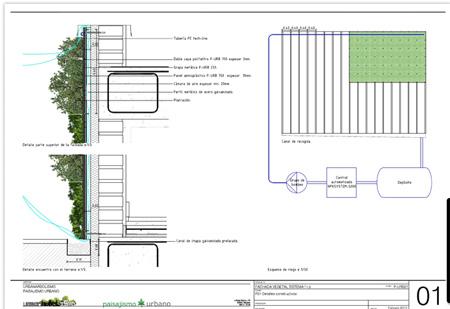 Xerojard n qui n nos puede hacer un jard n vertical for Riego jardin vertical