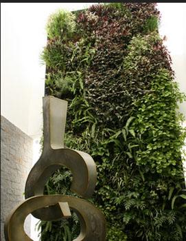 Xerojard n elementos de la estructura del jard n - Estructura jardin vertical ...