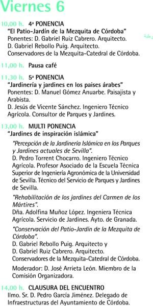 Xerojard n iii encuentro internacional hispano rabe de for Tecnico en jardineria