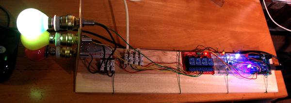 arduino10 luces de inixcio