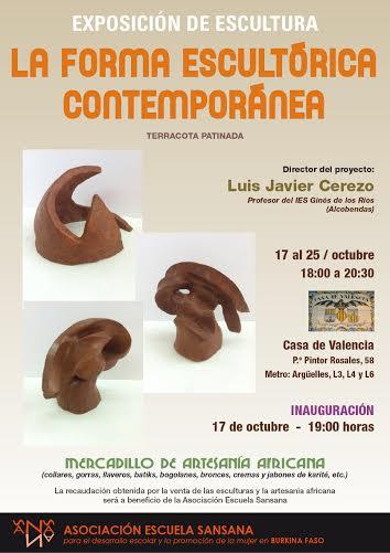 cartel esculturas