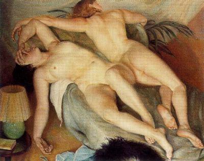 togores Dues dones dormint 1935