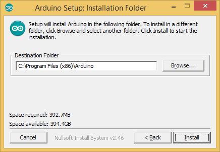 instalacion folder