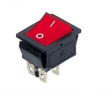interruptores rojo